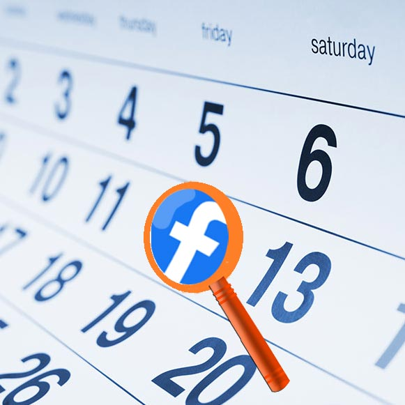 How to find Facebook messages by date