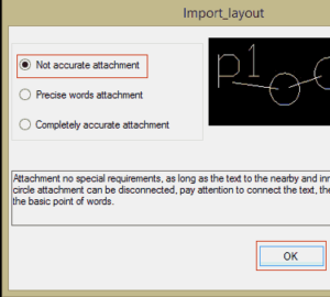 Importing dxf files to lededit