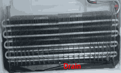 Fixing Refrigerator ice buildup - LG refrigerator freezer drain