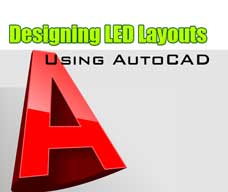 Pixel LED Tutorial - Creating layout using AutoCAD