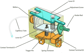 Thermostat Inside parts
