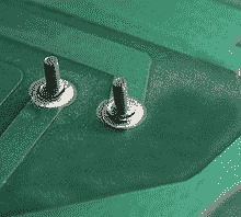 Dry or cold solder joints in a PCB