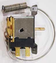 Fixing Refrigerator ice buildup - LG refrigerator thermostat