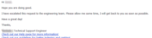Bing De-index Guideline Violation - second response from Bing Webmaster support