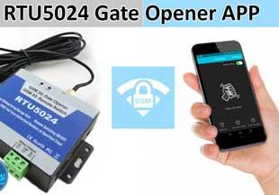 RTU5024 Gate Opener App Tutorial